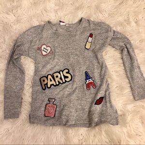 Sweaters - Paris themed light top